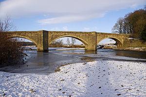 Loyn Bridge - Image: Loyn Bridge in winter geograph.org.uk 1663214