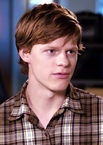 Photo of Lucas Hedges.