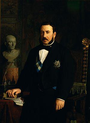 Luis José Sartorius, 1st Count of San Luis - The Count of San Luis, wearing the Grand Cross of the Order of Charles III.