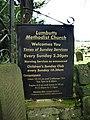 Lumbutts Methodist Church, Sign - geograph.org.uk - 1012906.jpg