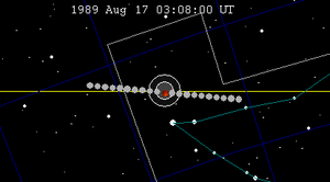 August 1989 lunar eclipse - Image: Lunar eclipse chart 1989Aug 17