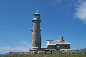 Landmark Trust - Image: Lundy Old Lighthouse geograph.org.uk 15437