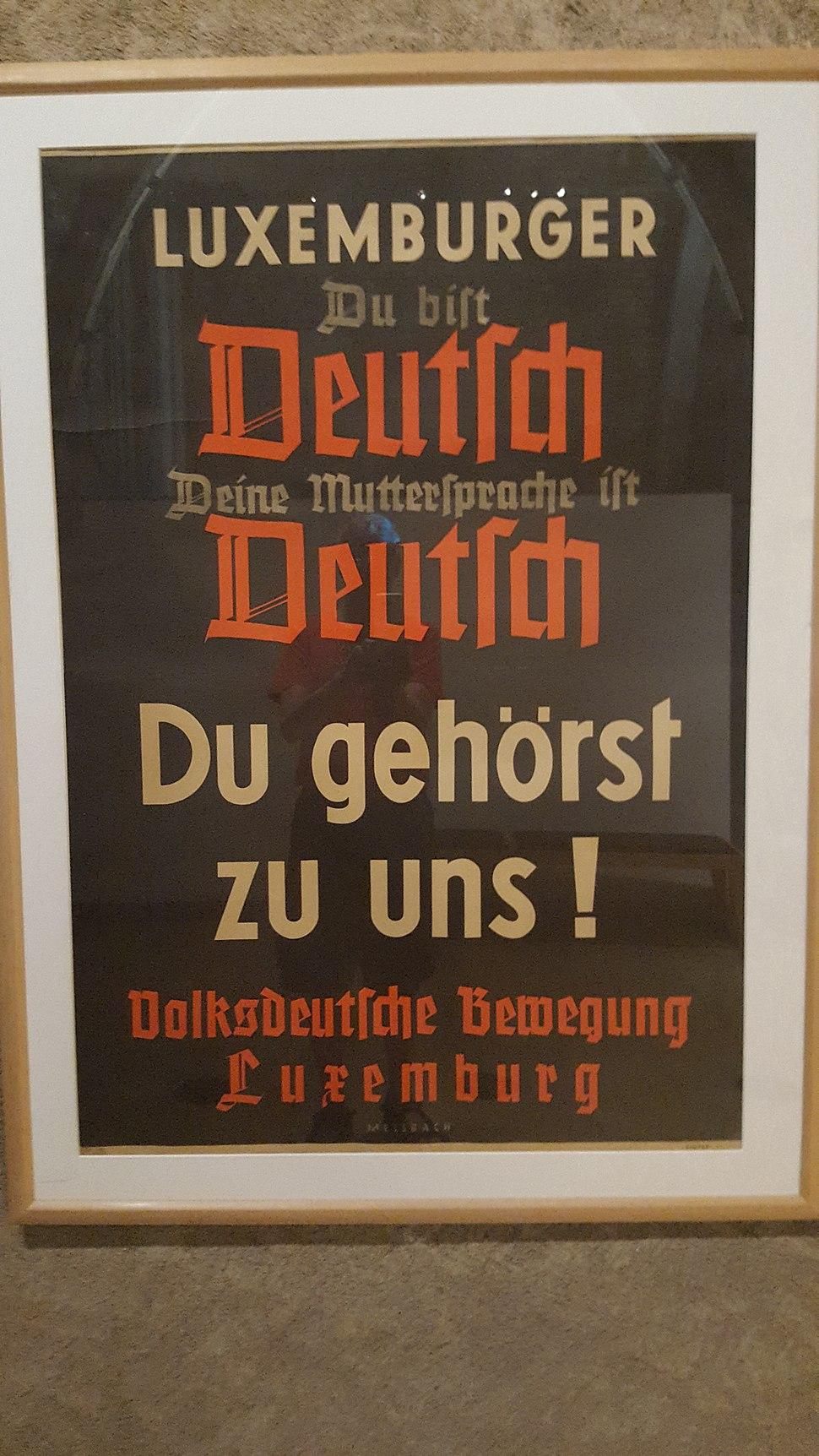 Luxemburger du bist Deutch