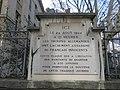 Lyon 6e - Mémorial 24 août 1944 rue Tronchet (fév 2019).jpg