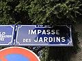 Lyon 9e - Impasse des Jardins - Plaque (fév 2019).jpg