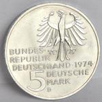 Münze 5 DM Immanuel Kant Revers.png