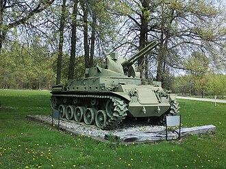 M42 Duster - M42 on display at American Legion Post 713 Deerfield, Ohio.