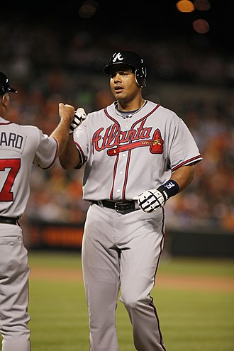 Bárbaro Cañizares - Cañizares with the Atlanta Braves