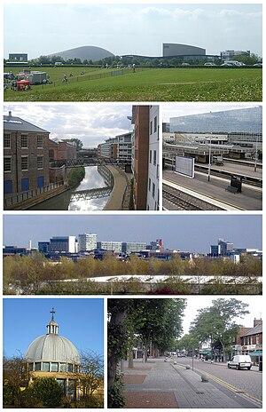 Milton Keynes - Image: MK Montage