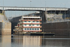 MV Mississippi in Kentucky Lock USACE.jpg