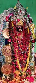 Kali Puja Hindu festival dedicated to the goddess Kali