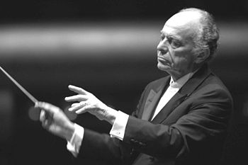 Conductor Lorin Maazel; date and place of orig...
