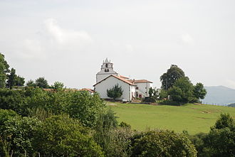 Macaye - The church of Macaye