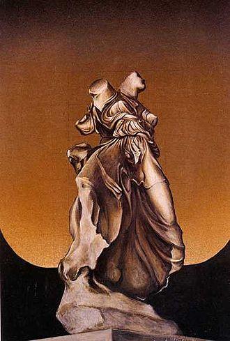 Modern Greek art - Glory by Dimitris Mytaras.