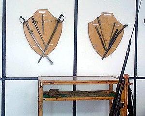 Lachanas Military Museum - Image: Macedonian Museums 57 Polemiko Laxana 253