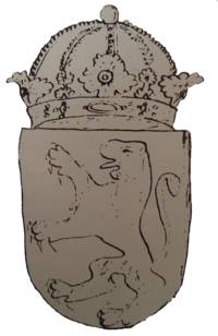Macedonian coat of arms from Paisi's book - first drawing.png