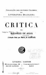Machado de Assis: Critica