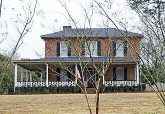 Mack-Belk House - Mack-Belk House, March 2012