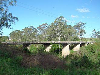Mount Lindesay Highway - Image: Maclean Bridge North Maclean