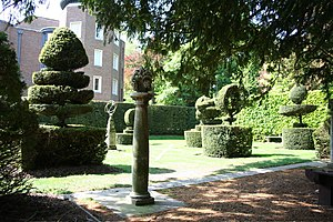 Institute of Continuing Education - Image: Madingley Hall, topiary and grounds geograph.org.uk 796851