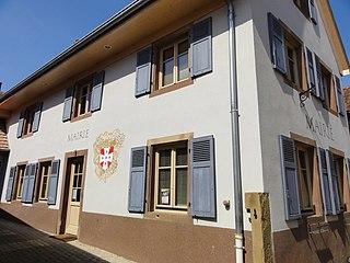 Maennolsheim Commune in Grand Est, France