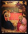 Maestro della madonna strauss, natività di cristo, 1385-1410 circa.JPG