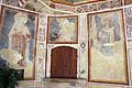 Maestro espressionista di santa chiara (forse palmerino di guido), storie francescane, 1290-1310 circa, santi 00.JPG