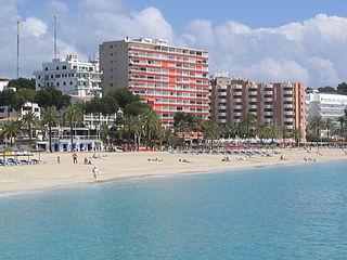 Calvià Municipality in Balearic Islands, Spain