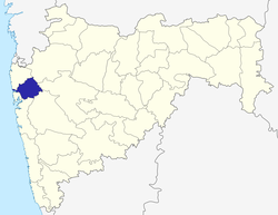 Location in Maharashtra
