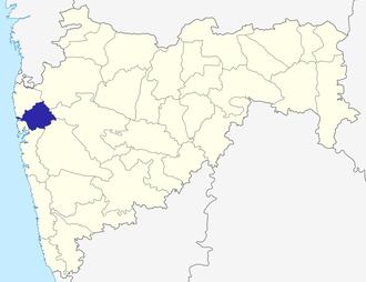 Thane district - Image: Maharashtra Thane