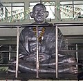 Mahatma Gandhi statue at srikakulam municipal corporation.jpg