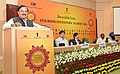 "Mahesh Sharma addressing the Plenary Session V ""Open House with State Tourism Ministers"", during the 'Incredible India-Tourism Investors' Summit 2016', in New Delhi.jpg"