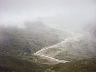 Eliodoro Camacho Province - Suches River in Umanata