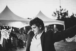 Čoček - Macedonian man dancing Cocek