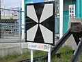 Makurazaki Station-Bollards.JPG