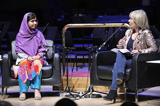 Malala Yousafzai at WOW festival 2014