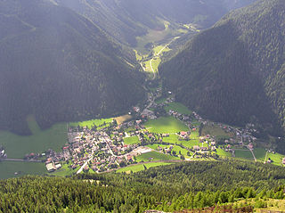 Mallnitz Place in Carinthia, Austria
