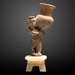 Man servant with vase-N 1344