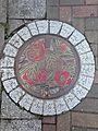 Manhole cover of Omuta, Fukuoka.jpg