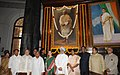 Manmohan Singh, the Speaker, Lok Sabha, Smt. Meira Kumar, the Chairperson, National Advisory Council, Smt. Sonia Gandhi, the Union Home Minister, Shri Sushil Kumar Shinde.jpg