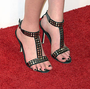 Manolo Blahnik - Manolo Blahniks worn by actress Whitney Port