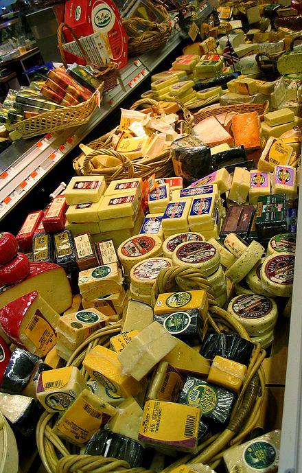 قائمة أنواع الجبن Wikiwand
