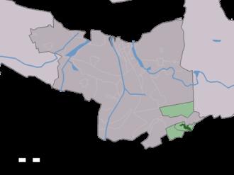 Koewacht - Image: Map NL Terneuzen Koewacht