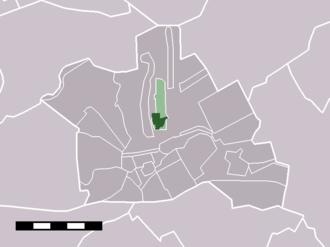 Kamerik - Image: Map NL Woerden Kamerik