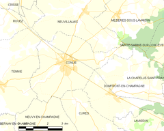 Map commune FR insee code 72089.png