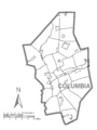 Map of Columbia County, Pennsylvania No Text.png