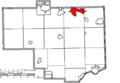 Map of Columbiana County Ohio Highlighting Columbiana City.png