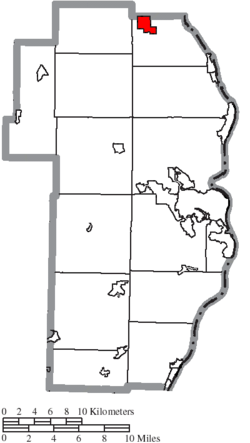 Location of Irondale in Jefferson County