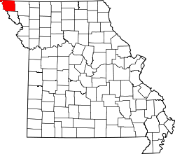 Map of Missouri highlighting Atchison County.svg