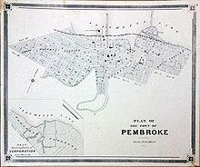 Map Of Pembroke Ontario Canada Pembroke, Ontario   Wikipedia